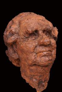 portret keramische kop