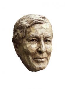 Bronzen portretten van prins Claus