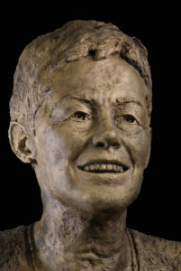 borstbeeld brons