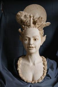 portretkop vrouw