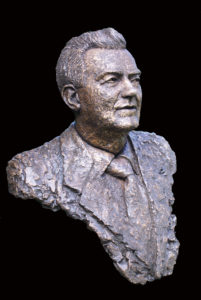 borstbeeld in brons laten maken