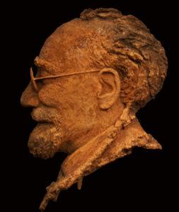 portret Reliëf