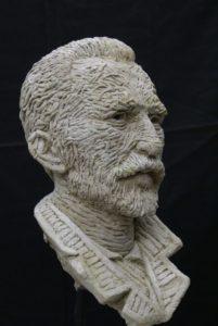 3d portret van Van Gogh