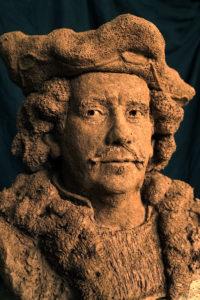 buste Rembrandt in de kracht van zijn leven