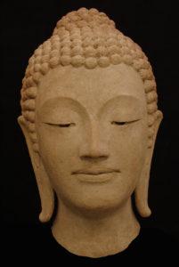 kop van Boeddha