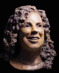 bronzen meisje