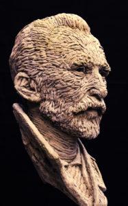 Vincent van Gogh portretkop